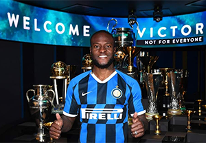 LIKE KANU NWANKWO, VICTOR MOSES GETS INTER MILAN'S JERSEY NUMBER 11