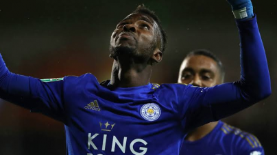 IHEANACHO SCORES IN LEICESTER SEMIFINAL LEAGUE CUP LOSS