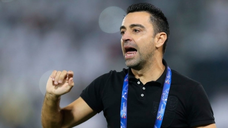 XAVI TURNS DOWN COACHING ROLE AT BARCELONA