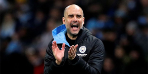 I WILL BE HERE, 100 PER CENT FOR MAN CITY, DESPITE UEFA BAN, SAYS PEP GUARDIOLA