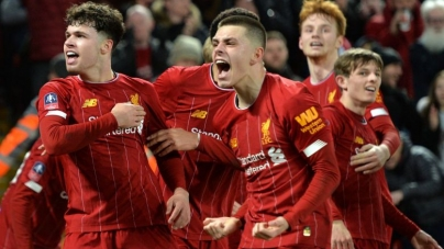 LIVERPOOL'S YOUNGSTERS ARE TRIUMPHANT IN FA CUP REPLAY