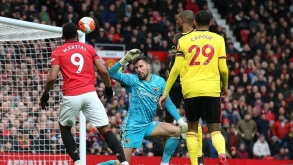 MAN UTD SIGHT TOP FOUR AFTER 3-0 OVER WATFORD