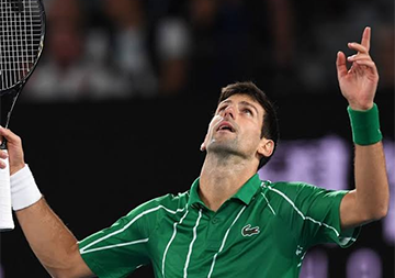 TENNIS STAR NOVAK DJOKOVIC OPPOSES COMPULSORY COVID-19 VACCINATION
