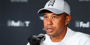 LIFE IS MORE IMPORTANT NOW THAN SPORTS, SAYS TIGER WOODS
