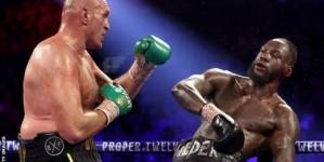SENSATIONAL TYSON FURY ENDS DEONTAY WILDER WORLD REIGN IN LAS VEGAS