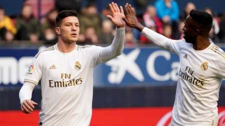 REAL MADRID STRIKER JOVIC FACES CRIMINAL CHARGES FOR BREAKING CORONAVIRUS QUARANTINE