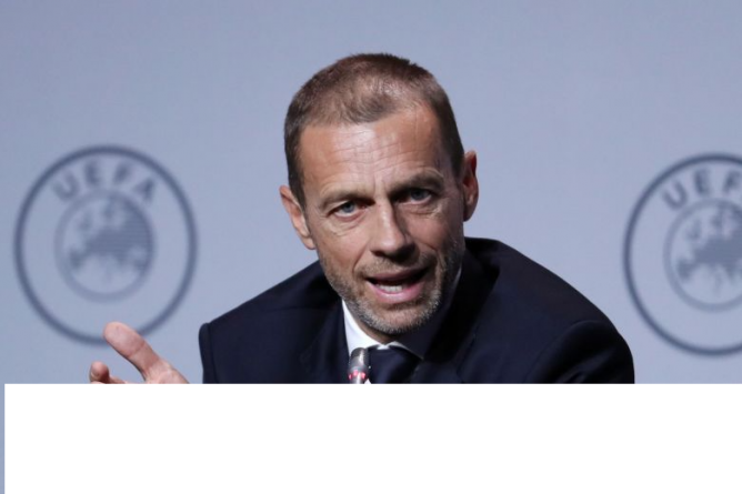 UEFA TO MEET OVER OPTIONS OVER END OF FOOTBALL SEASON