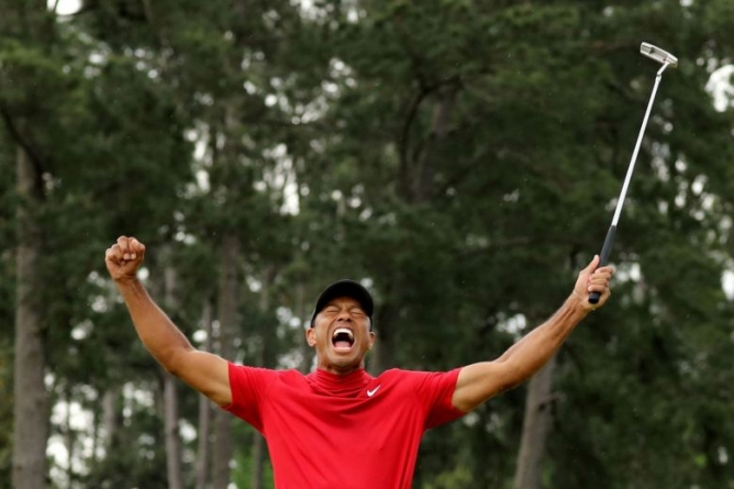 TIGER WOODS ELECTED TO WORLD GOLF HALL OF FAME