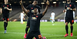 ODION IGHALO LEADS MAN UNITED GOAL RIOT