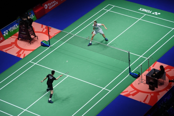 BADMINTON WORLD FEDERATION SUSPENDS ALL INTERNATIONAL EVENTS