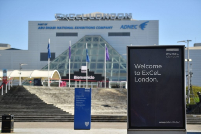 OLYMPIC 2012 VENUE TURNS TO AD HOC HOSPITAL FOR CORONAVIRUS PATIENTS