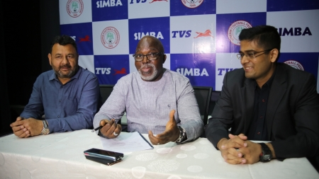 NFF EXTOLS SIMBA AT PARTNERS SIGN CONTRACT RENEWAL