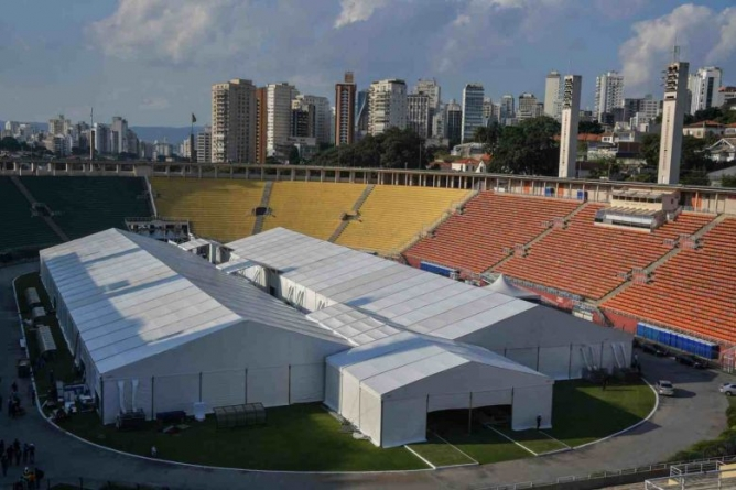 WORLD CUP 2014 STADIUMS BECOME HOME TO CORONAVIRUS VICTIMS