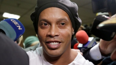 RESPITE FOR RONALDINHO; TO BE FREED FROM JAIL INTO HOUSE ARREST