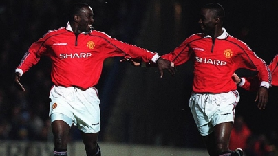 ANDY COLE AND DWIGHT YORK INSPIRE IGHALO AT OLD TRAFFORD