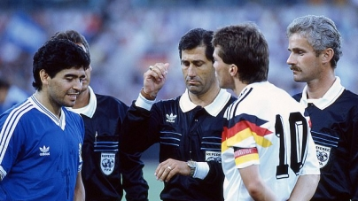 REVEALED 30 YEARS AFTER; MARADONA QUALIFIED FOR RED CARD BEFORE 1990 WORLD CUP FINAL MATCH!