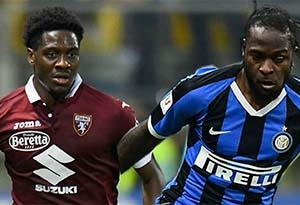 VICTOR MOSES, OLA AINA BACK IN ACTION AS SERIE A GETS NOD TO RESUME