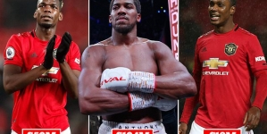 NIGERIA'S DUO OF ANTHONY JOSHUA AND ODION IGHALO RATED AMONG 18 RICHEST SPORTS STARS!