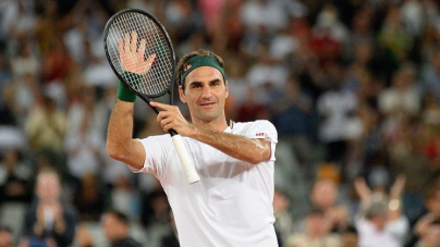 ROGER FEDERER OUT UNTIL NEXT YEAR