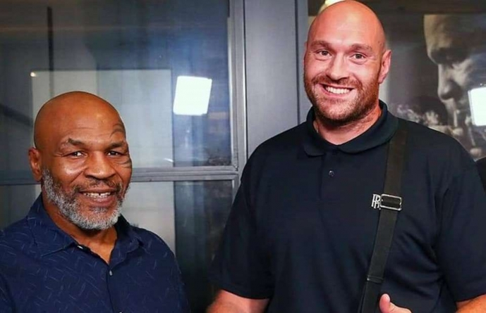 A TITANIC FIGHT OF THE MIKE TYSON & TYSON FURY IS BREWING