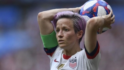 US WOMEN'S WORLD CUP STAR, MEGAN RAPINOE EYES BECOMING US PRESIDENT
