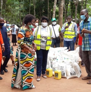 VICTIMS SUPPORT FUND DONATES PALLIATIVE TO IDP