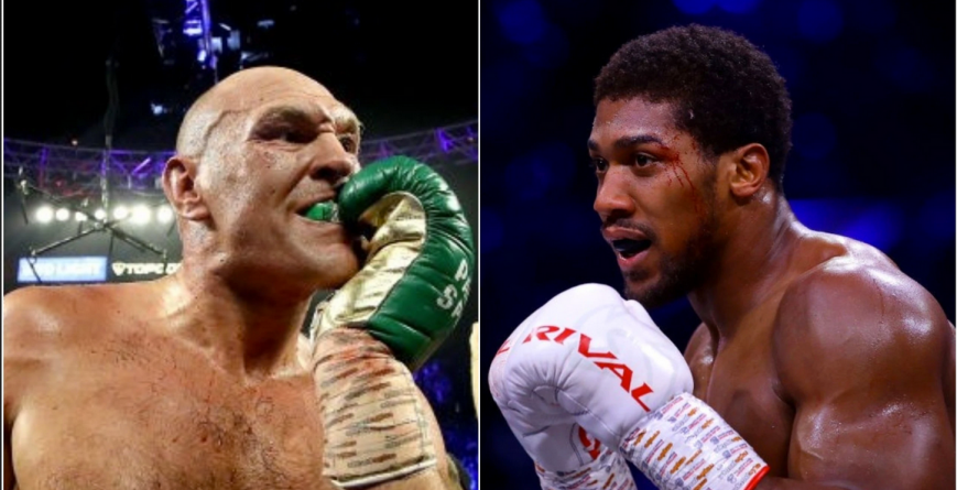 ANTHONY JOSHUA VS TYSON FURY UNIFICATION FIGHT BECOMING REAL