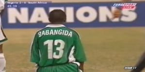 MYSTERY OF TIJANI BABANGIDA'S GOAL AT FRANCE '98