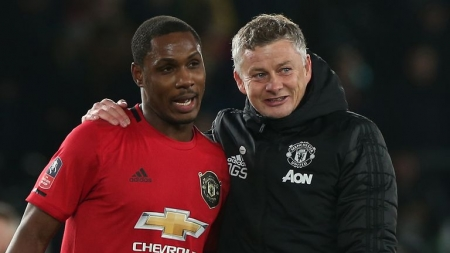 MANCHESTER UNITED BOSS BANKS ON ODION IGHALO FOR TOP-FOUR FINISH