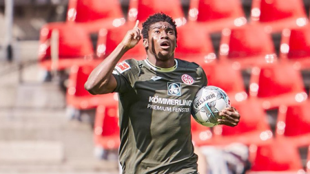 TAIWO AWONIYI LEADS MAINZ COME-BACK EXPLOITS IN 2-2 DRAW WITH COLOGNE