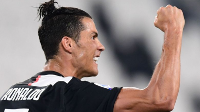RONALDO RUNS RIOT AS JUVENTUS CRUSH LECCE