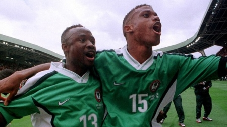 FLASHBACK: TIJANI BABANGIDA AND SUNDAY OLISEH TURN AROUND THE MYTH OF NUMBER 13