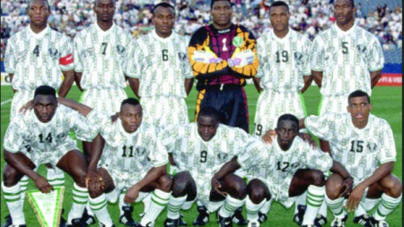FLASHBACK: STEPHEN KESHI PLAYS LAST SUPER EAGLES' MATCH AND LAST WORLD CUP OUTING