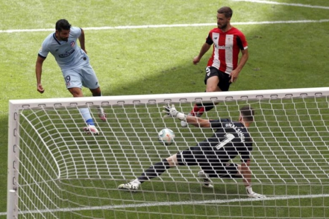TOP FOUR BLOW TO 'NOT TOO ATHLETIC' ATLETICO MADRID