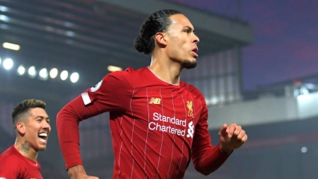 PLAYING EVERY MINUTE IN THE SEASON, VIRGIL VAN DIJK EQUALS PREMIER LEAGUE RECORD