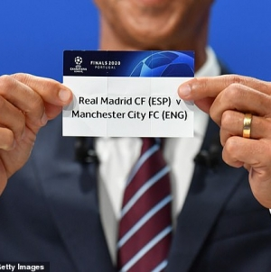 CHAMPIONS LEAGUE DRAW: IT'S A NIGHTMARE FOR MAN CITY