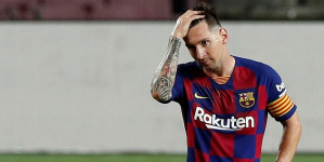LIONEL MESSI SET TO LEAVE BARCELONA