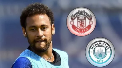 RESTLESS NEYMAR MAY BE HEADING TO MANCHESTER