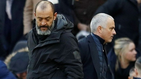 PORTUGUESE MANAGERS, MOURINHO AND SANTO IN FINAL-DAY FIGHT FOR EUROPA LEAGUE PLACE