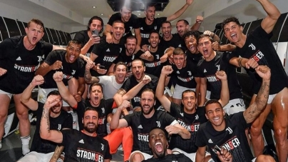SARRI RELISHES 'SWEET' 1ST TITLE WIN WITH JUVENTUS