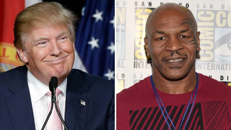FLASHBACK: BOXING LEGEND, MIKE TYSON HIRES DONALD TRUMP