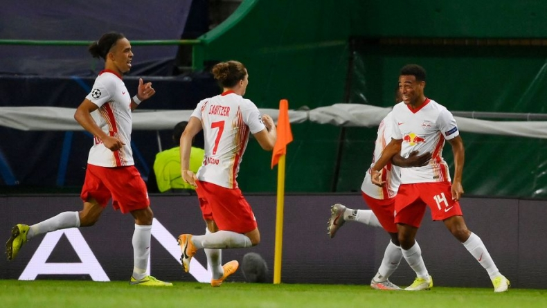 LEIPZIG SHOCK ATLETICO TO REACH CHAMPIONS LEAGUE SEMI FINALS