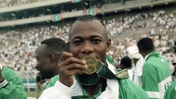 THIS DAY IN HISTORY: NIGERIA'S 'DREAM TEAM' BECOMES 1ST NON-EUROPEAN OLYMPIC GOLD WINNERS IN 68 YEARS