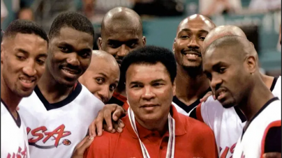 FLASHBACK: HAKEEM OLAJUWON WINS OLYMPIC GOLD WITH US DREAM TEAM