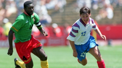 FORMER COLLEAGUES PAY TRIBUTE TO ITALIA '90 CAMEROON SKIPPER, STEPHEN TATAW