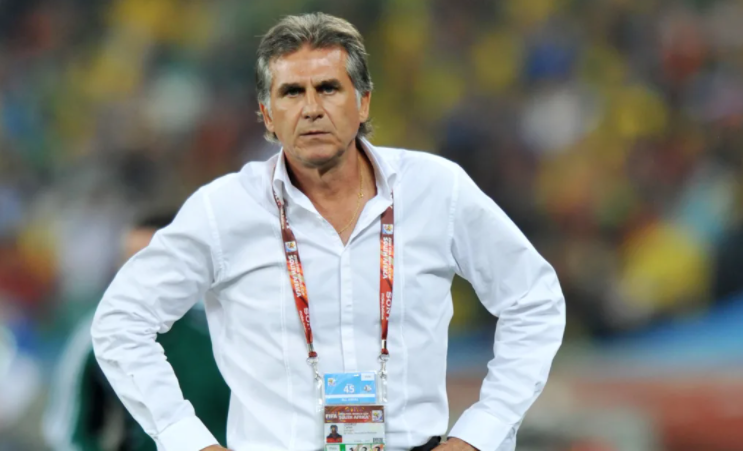 Nigeria's Afcon opponents, Egypt name Queiroz who guided Portugal to beat Flying Eagles as new coach